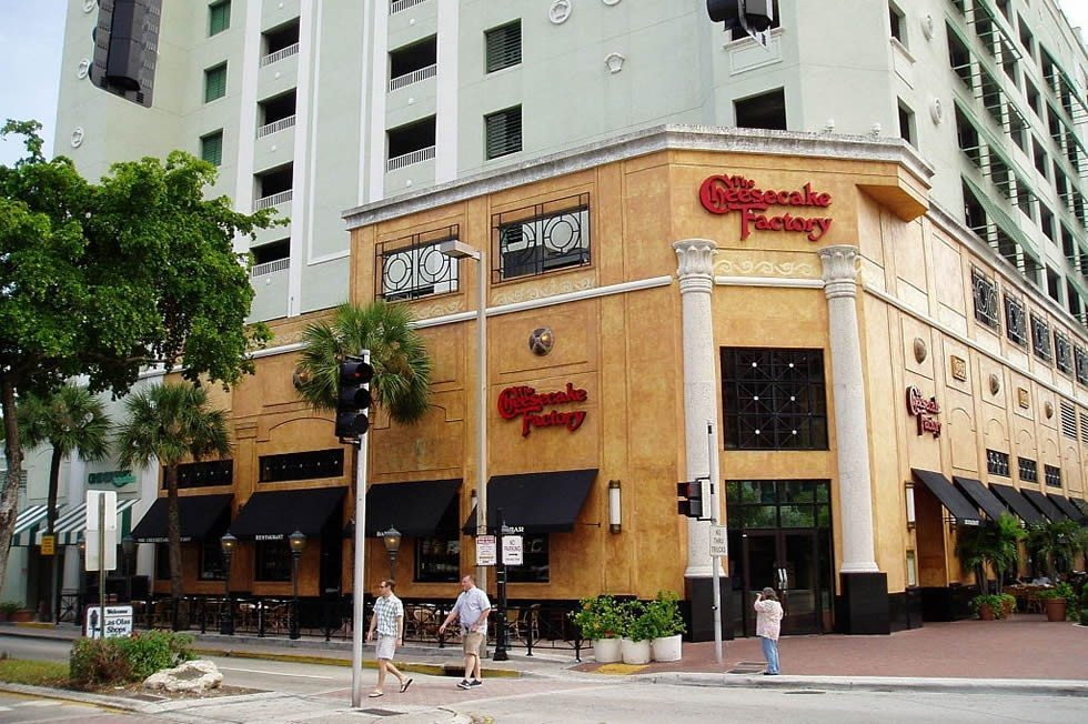 Cheese cake Factory Fort Lauderdale