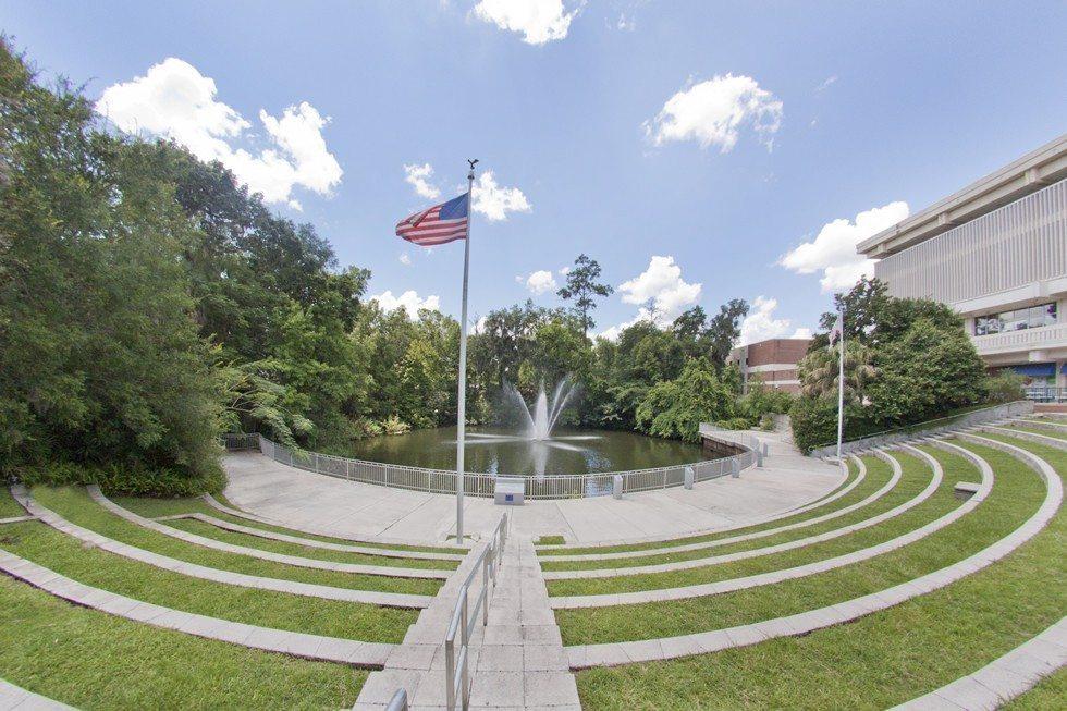Reitz Union Amphitheater at the University of Florida-