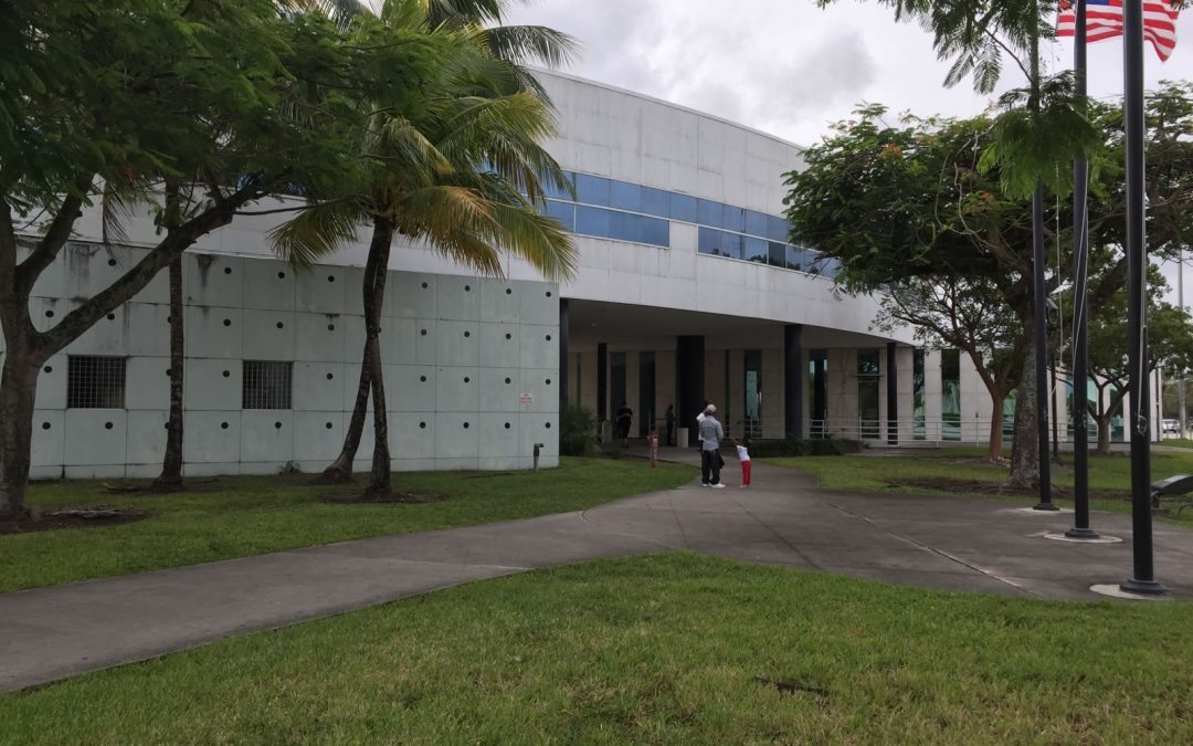 Stuart Marcadis at the Miami Dade Courthouse