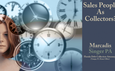 DIY Commercial Debt Collection –  Salespeople as Collectors
