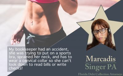 Best Debt Collection Excuses – The Sports Bra Debacle