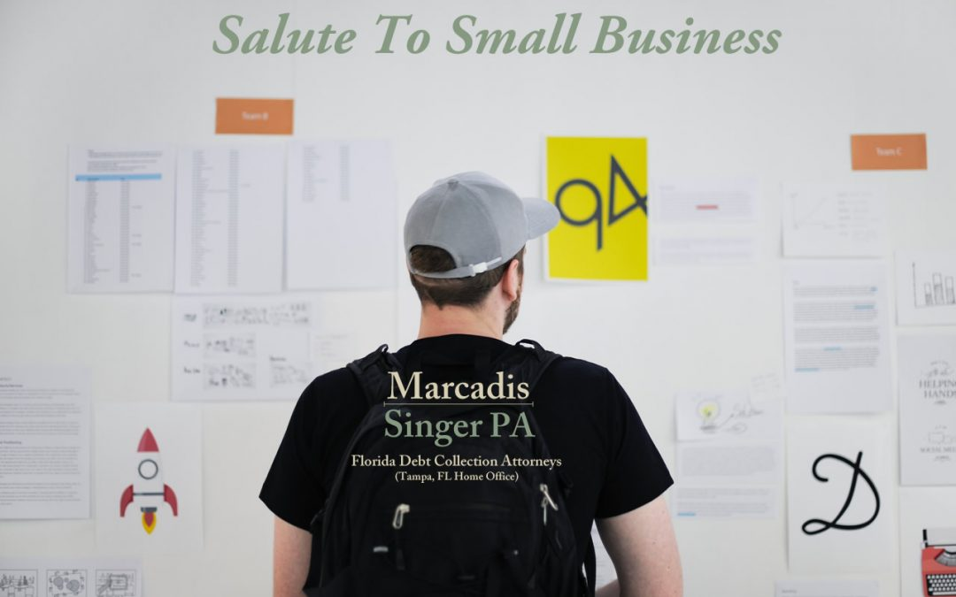 Salute to Small Business – A mini Series II – Success Rates