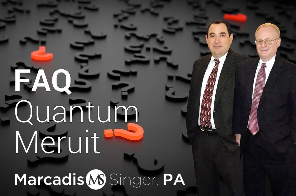 FAQ-Quantum Meruit