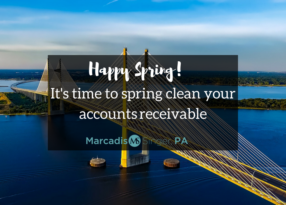 It's Time to Spring Clean Your A/R – Florida Debt Collection Attorney