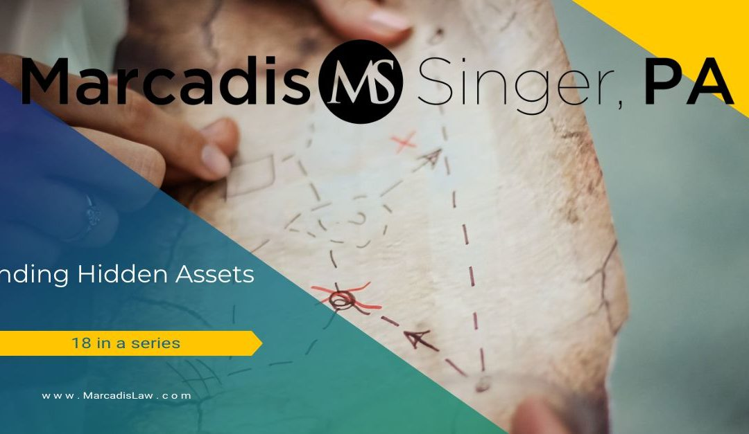 Finding Hidden Assets – Search Parameters – Motor Vehicles