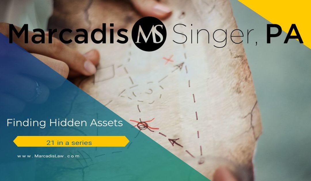 Finding Hidden Assets – Corporate Property