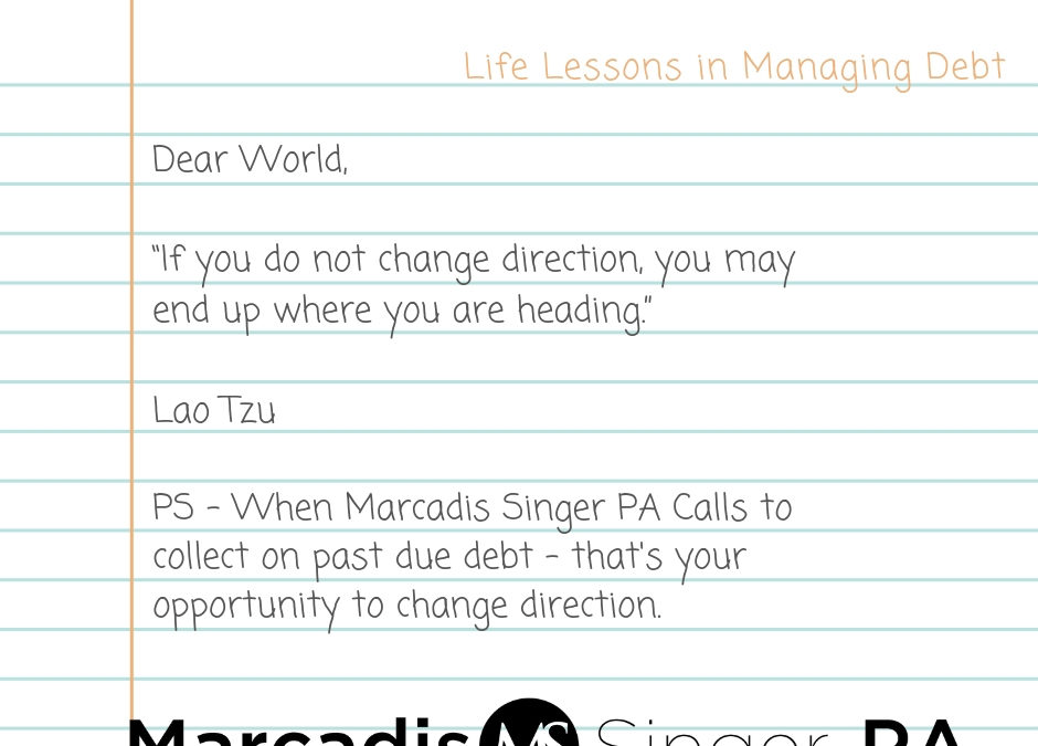 Lao Tzu and the art of paying your debts….