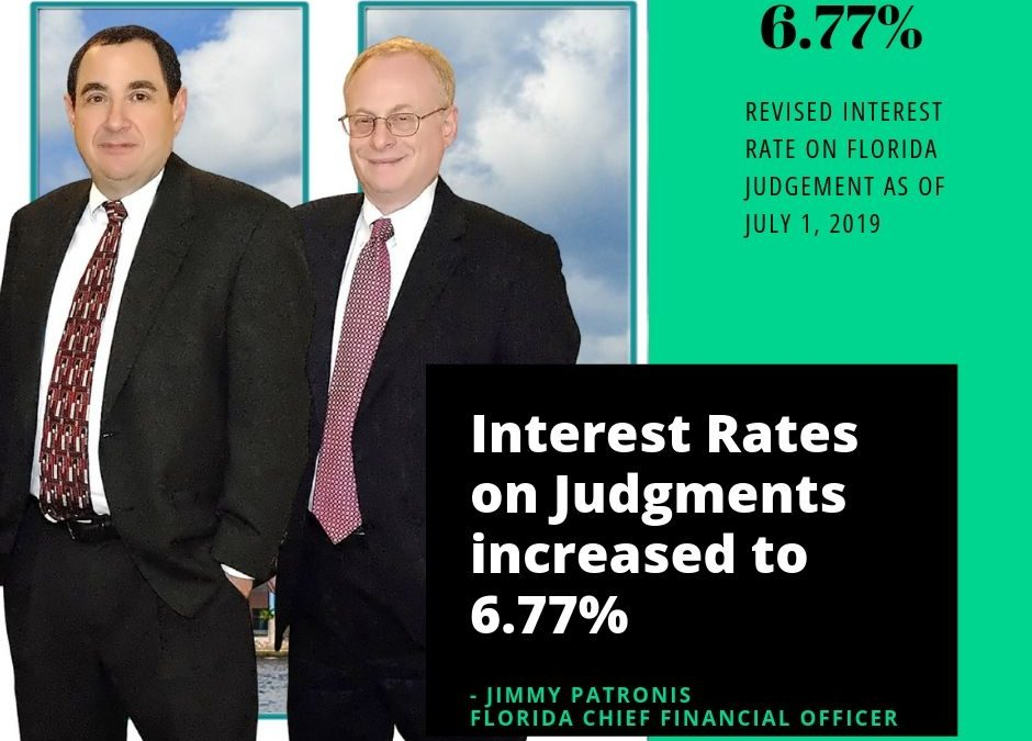 Update to Florida Interest Rate on Judgments