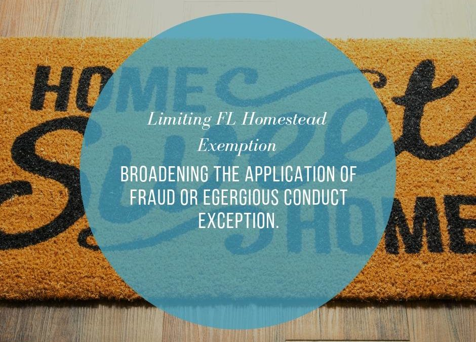 Broadening the Application of the Fraud or Egregious Conduct Exception