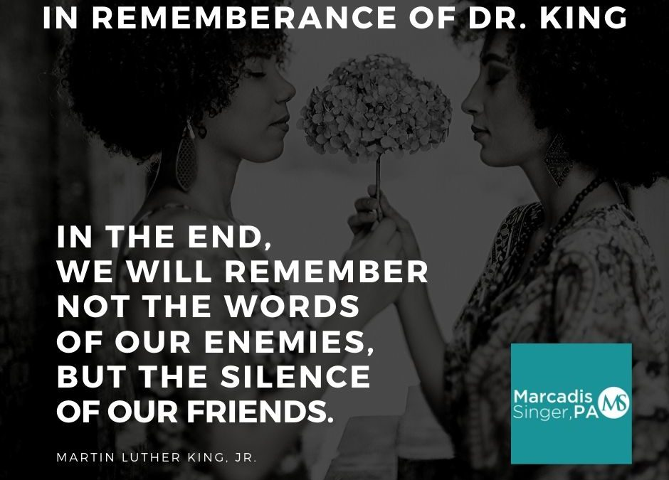 Remembering the Late, Great Dr. King on his birthday.