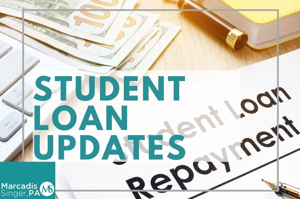 Update on Student Loan Forgiveness