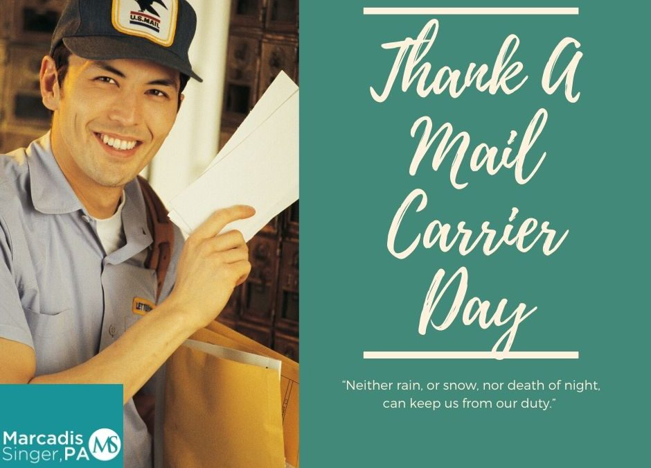 National Thank A Mail Carrier Day