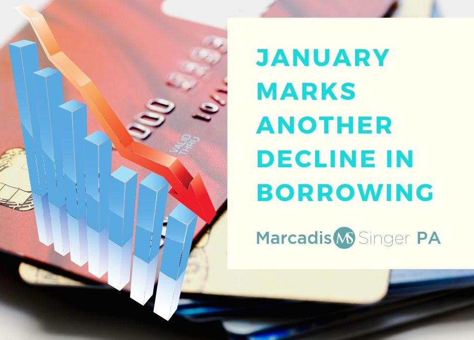 Another Decline on Credit Card Borrowing