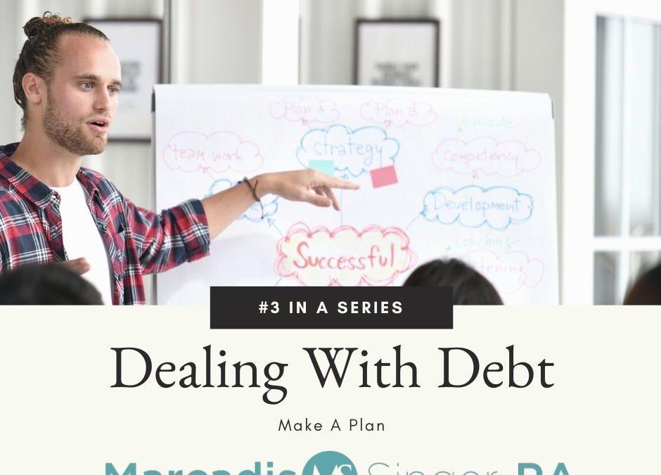 Dealing With Debt Series – Part 3