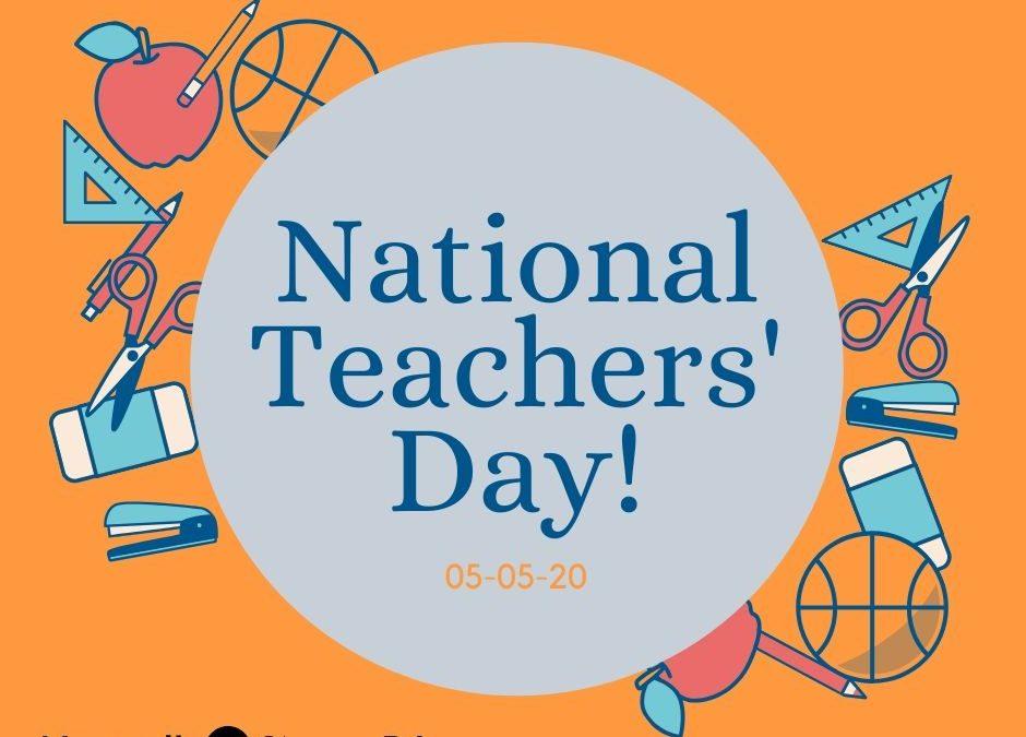 National Teachers' Day!