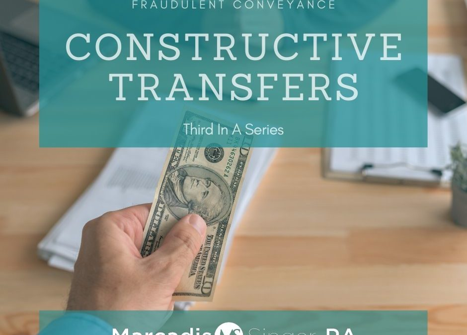 Fraudulent Conveyance – Third In A Series