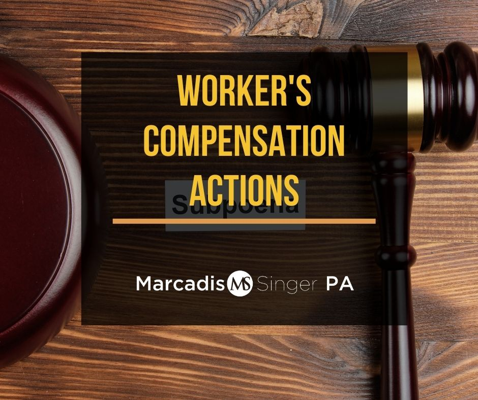 Worker's Compensation actions