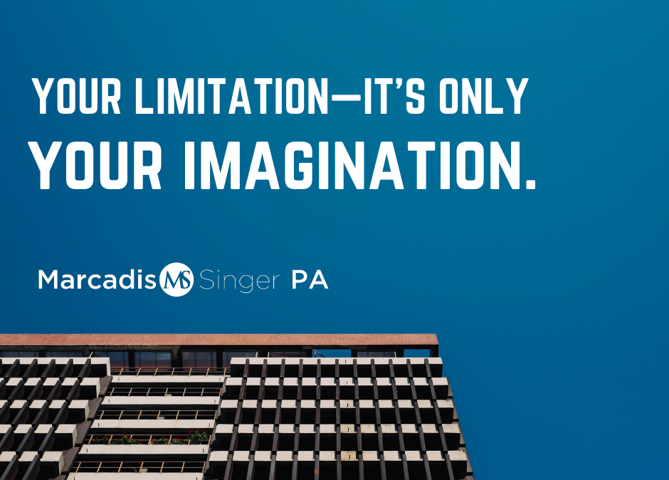 Motivational Monday - Your Limitation is Only Your Imagination