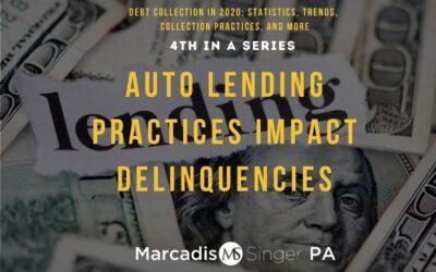Auto Lending Practices Impact Delinquencies