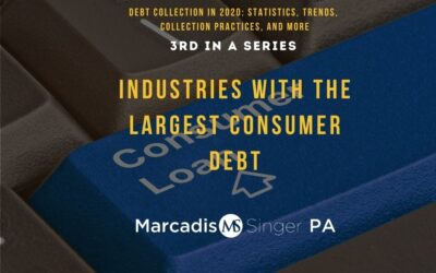 Industries with the Largest Consumer Debt